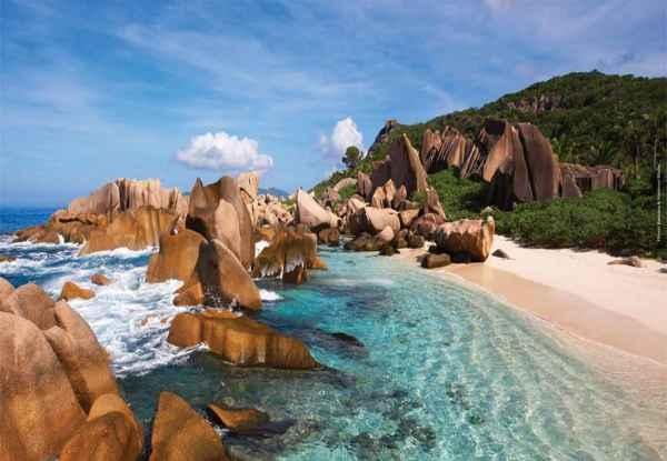 isla La Digue en Seychelles