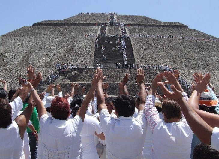 piramide del sol México