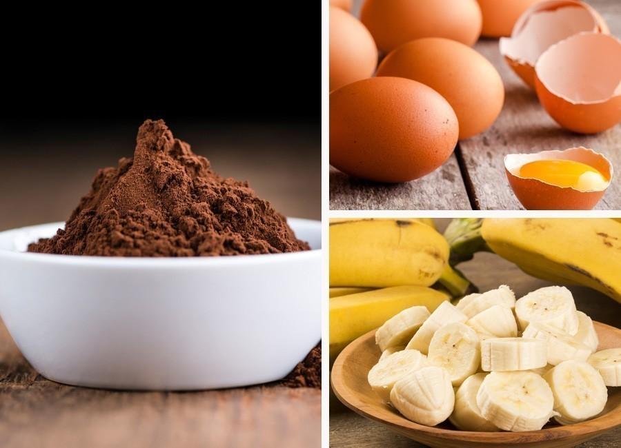 torta de chocolate sin harinas- ingredientes