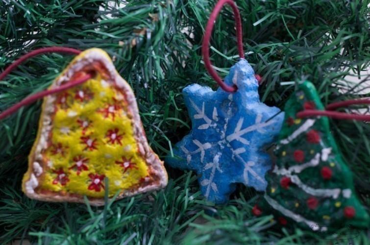 navidad sustentable - adornos