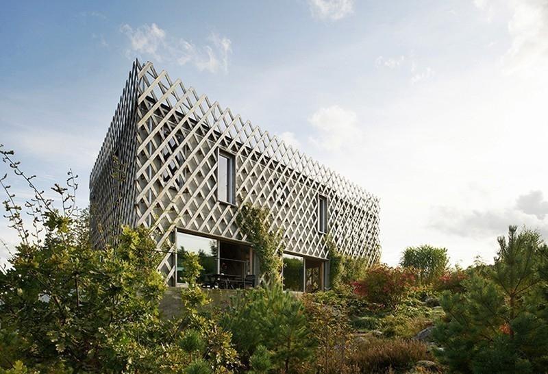 jardín vertical casa- diseño