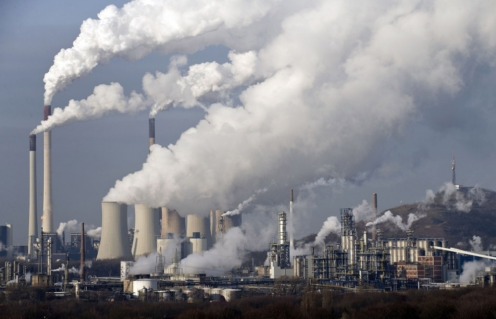 La contaminación del aire junto con el cambio climático produce muertes prematuras.