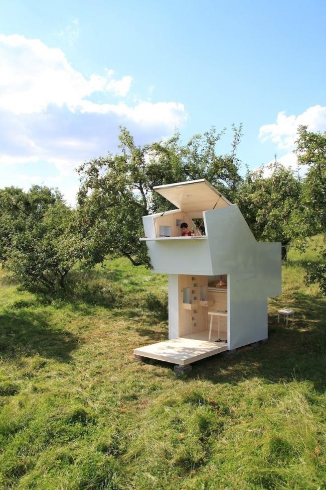casa que desafía todas las concepciones de diseño en espacios pequeños- exterior