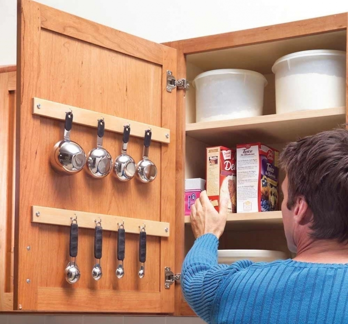 Muebles para cocinas pequeñas- tirantes internos