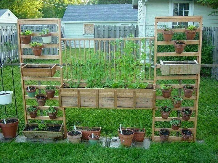 jardín vertical- reutilizar