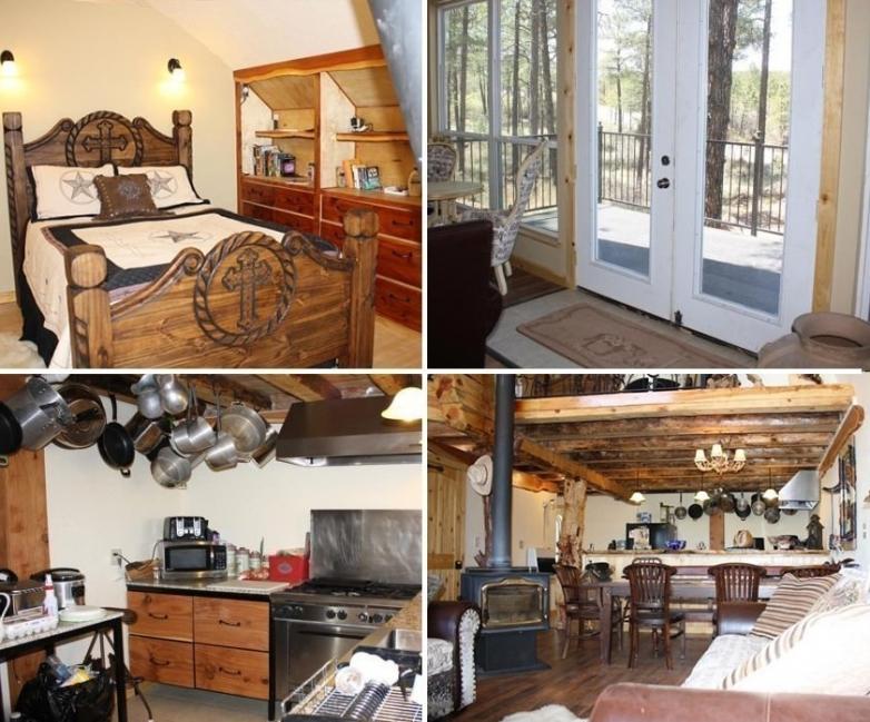 Una cabaña tipo alpina - interior