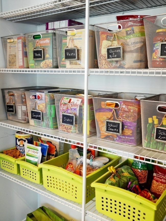 ideas para cocinas- organizar despensa