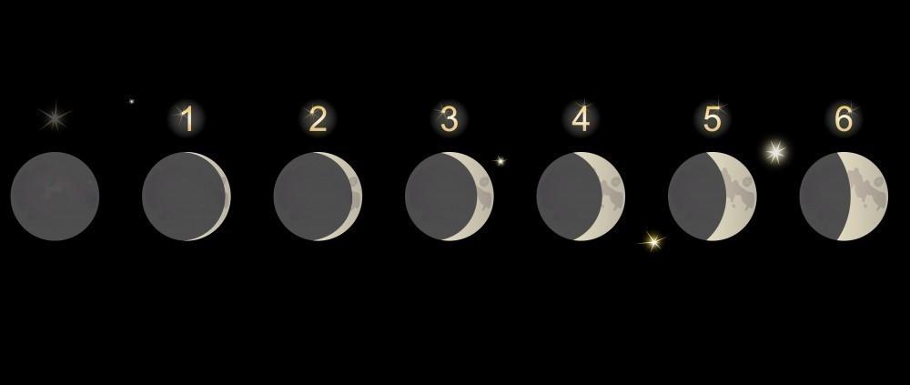 influencia luna en emociones- neurociencia- Acetilcolina: de la luna nueva al cuarto creciente