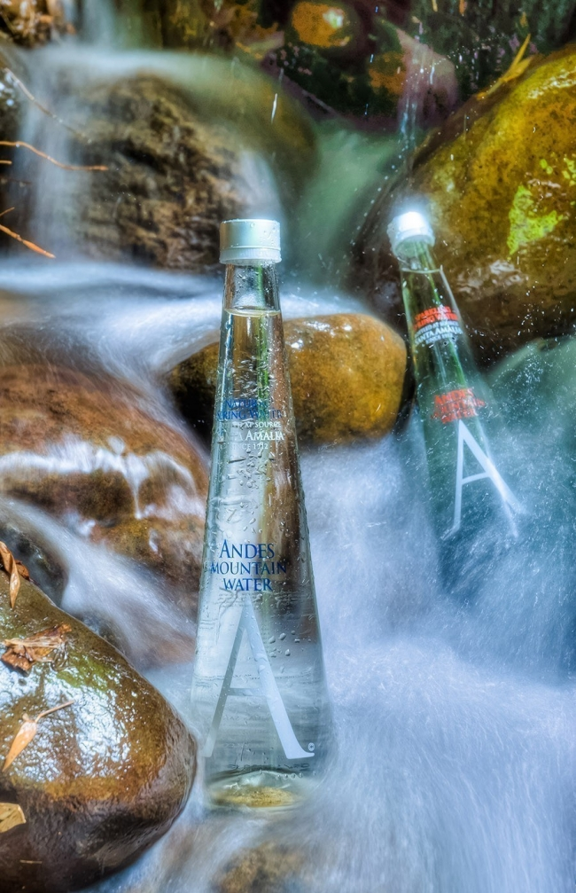 Agua pura - Andes Mountain Water