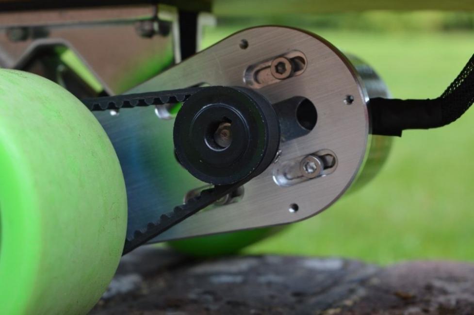 Longboard eléctrico - polea