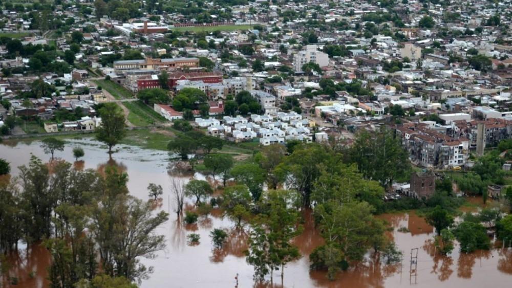 deforestación e inundaciones - concordia e inundación