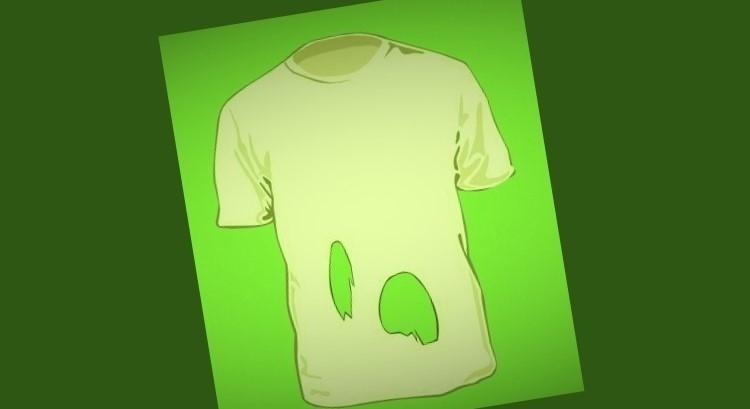 desafio agujeros camisa