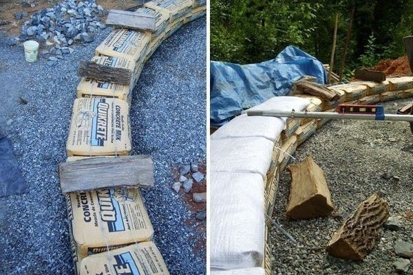 earthbag construir con bolsas de tierra. estructuras