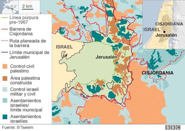 Desde 1980, muchos países han localicado sus embajadas en Tel Aviv y no en Jerusalén
