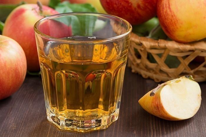 Eliminar ácido úrico: Vinagre de manzana