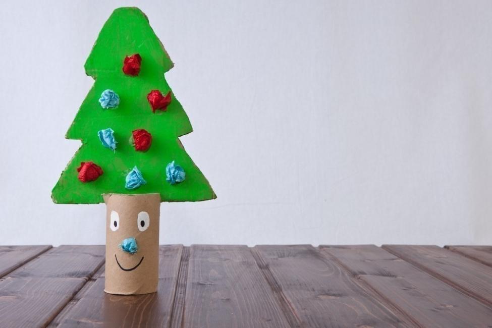 Navidad sustentable - árbol