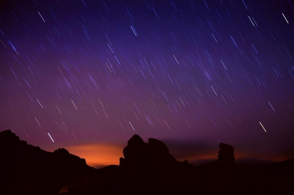 ver lluvia de estrellas