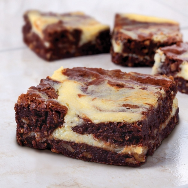 Cheesecake Brownies-