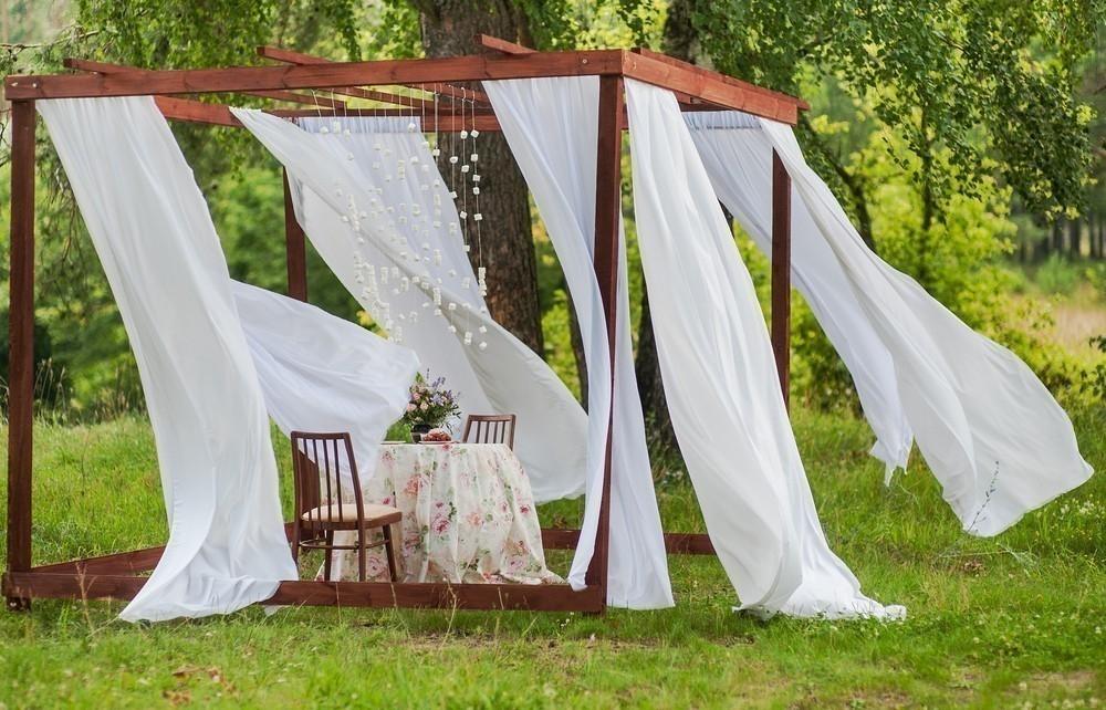 Rincones cubiertos para disfrutar del aire libre