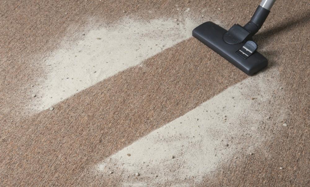 bicarbonato- quitar pelos alfombra