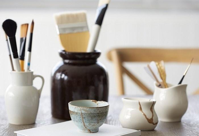 ceramicas rotas tecnica japonesa