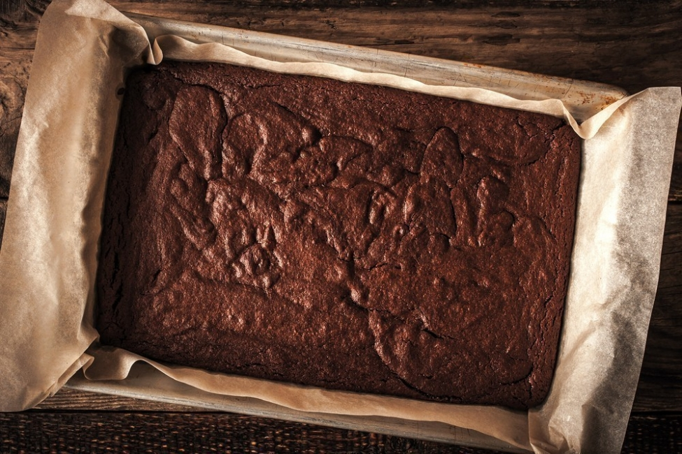 Brownie chocolate- hornear