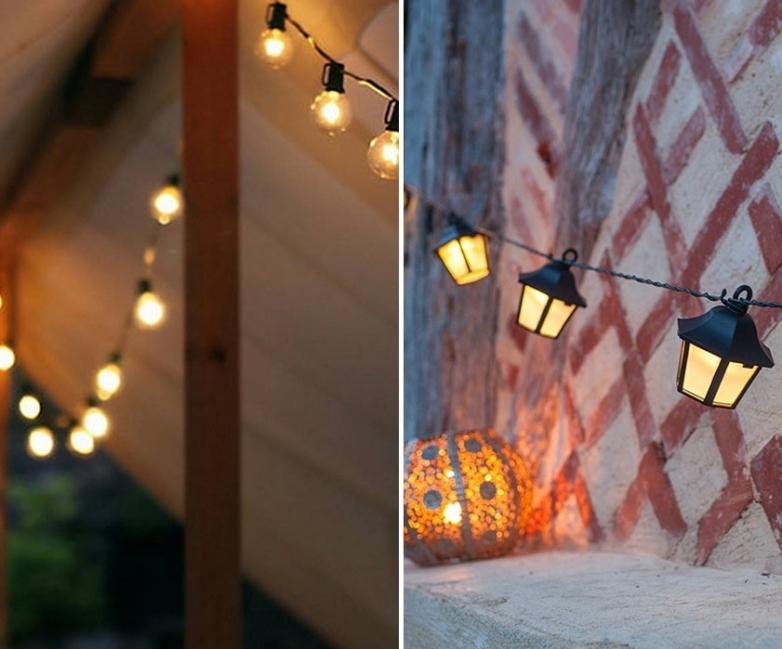 18 ideas para decorar patios y jardines - Iluminacion para patios y jardines ...