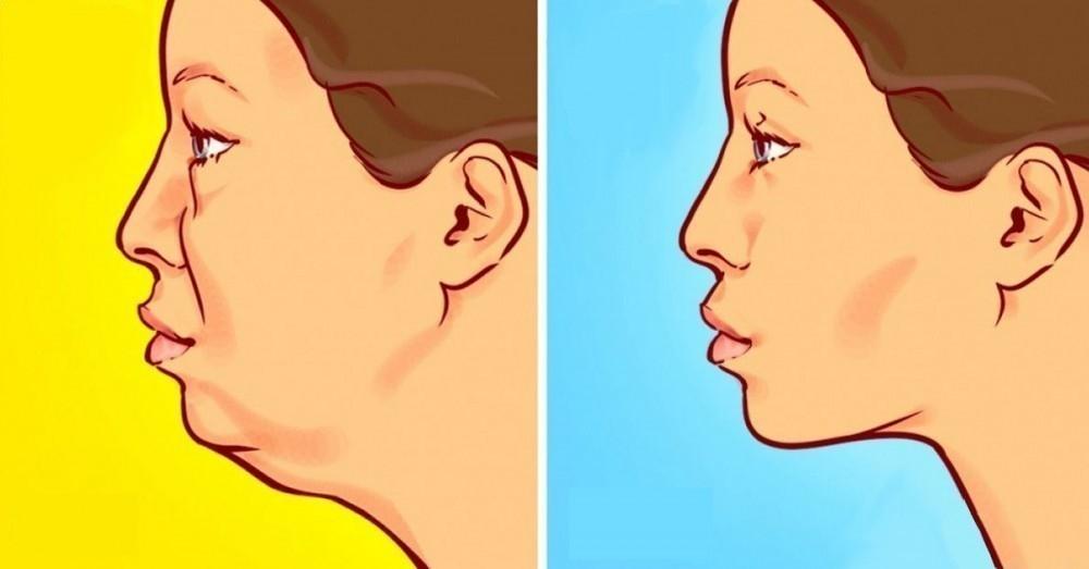 Sin como hacer ejercicio la cara adelgazar