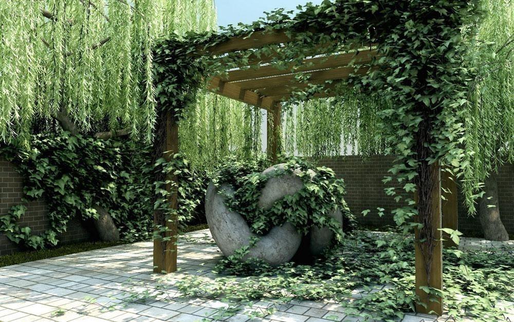 Las mejores plantas enredaderas para llenar de vida - Plantas trepadoras de sol ...