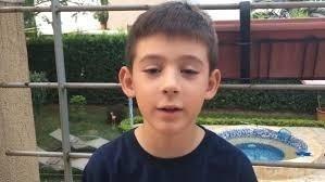 Federico tiene 8 años y es de Colombia