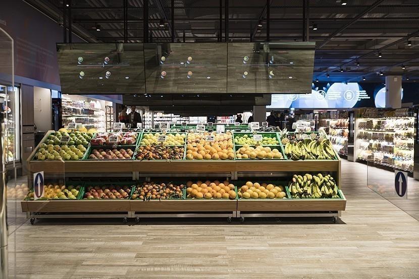 Un supermercado inteligente que informa a los consumidores el origen y las características de cada alimento