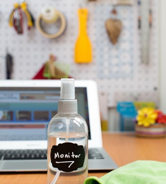 limpiar pantalla del ordenador - receta con alcohol