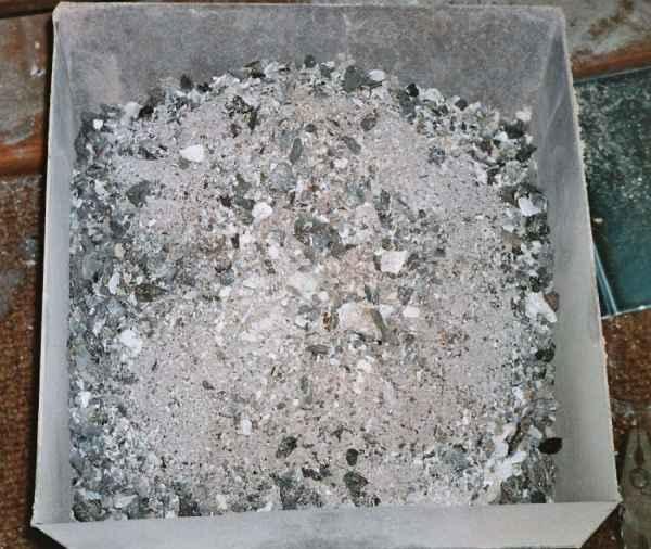 Steinkohlenasche