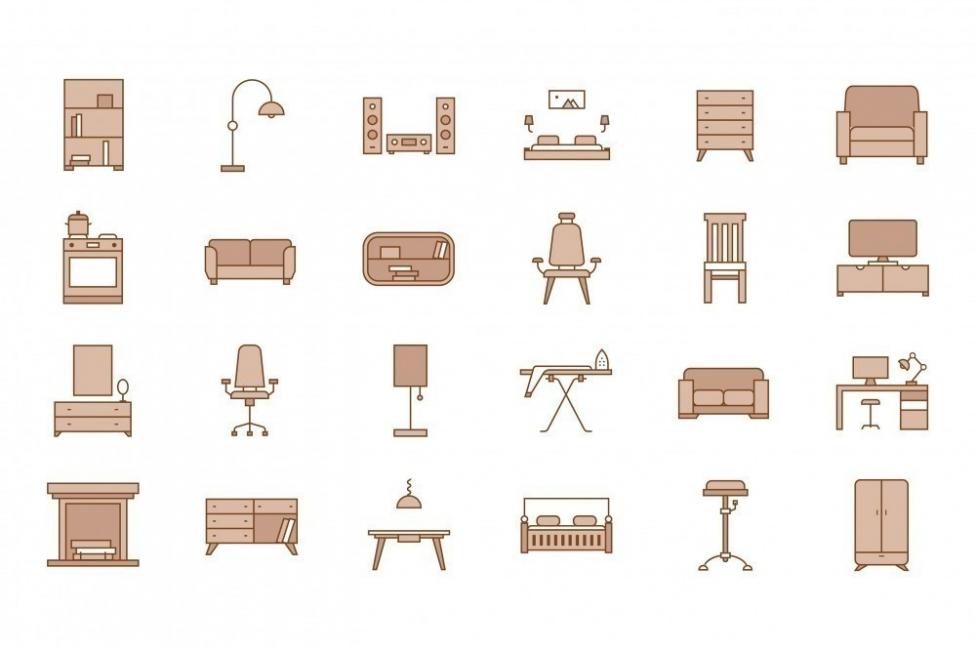 muebles planos
