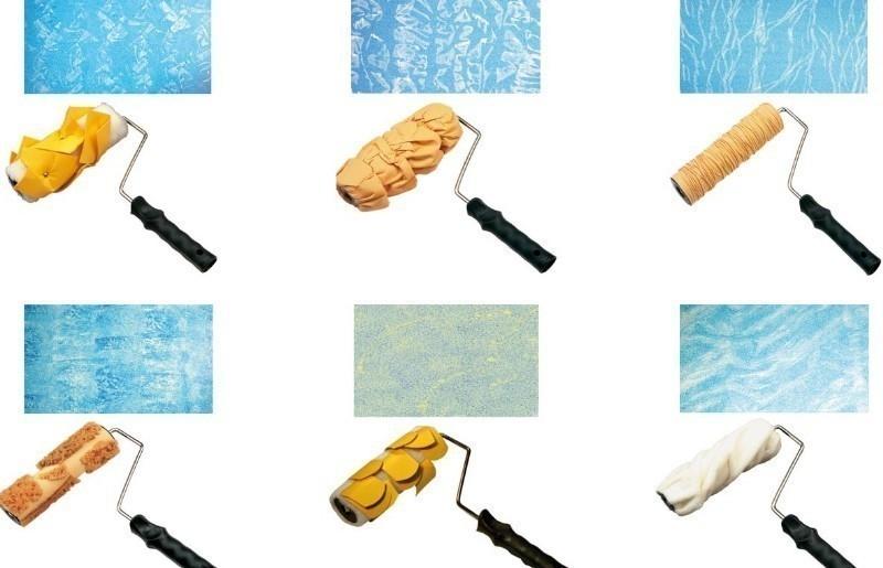 rodillos texturados