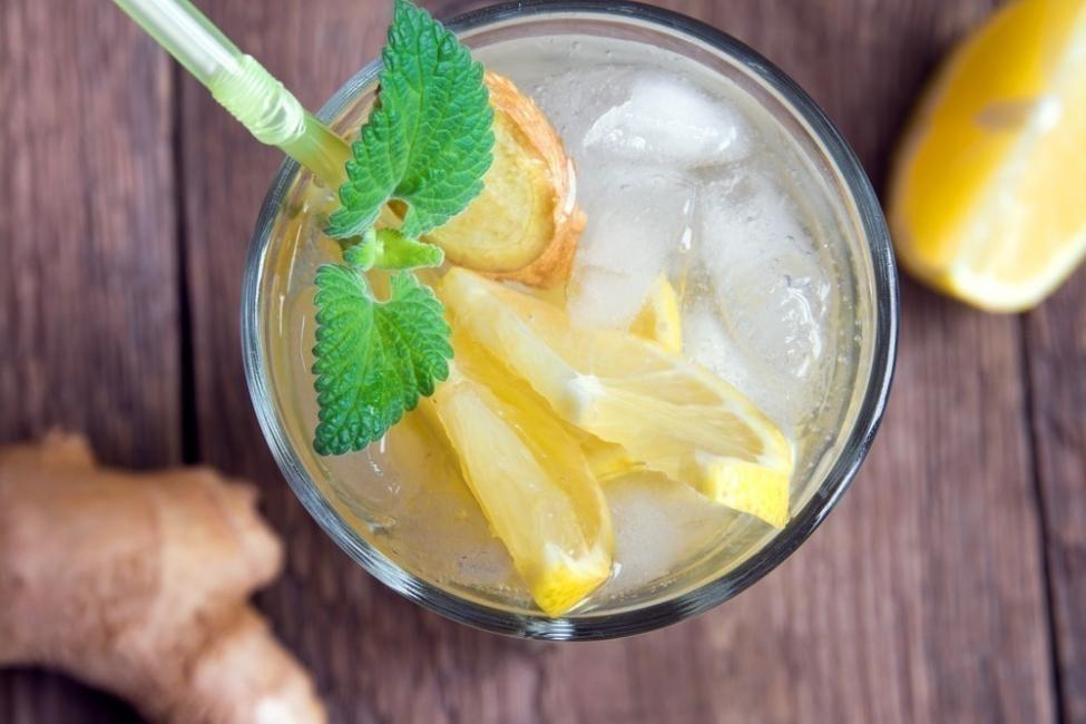 Cómo disminuir la grasa corporal con jengibre- bebidas