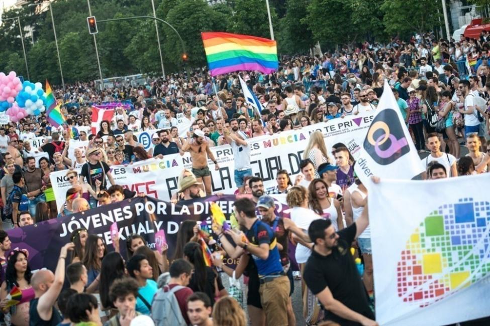 Marcha del Día del Orgullo en Madrid