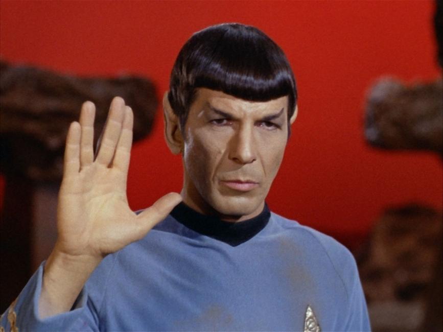 Mr. Spock, un personaje de Star Trek que nació en el planeta Vulcano