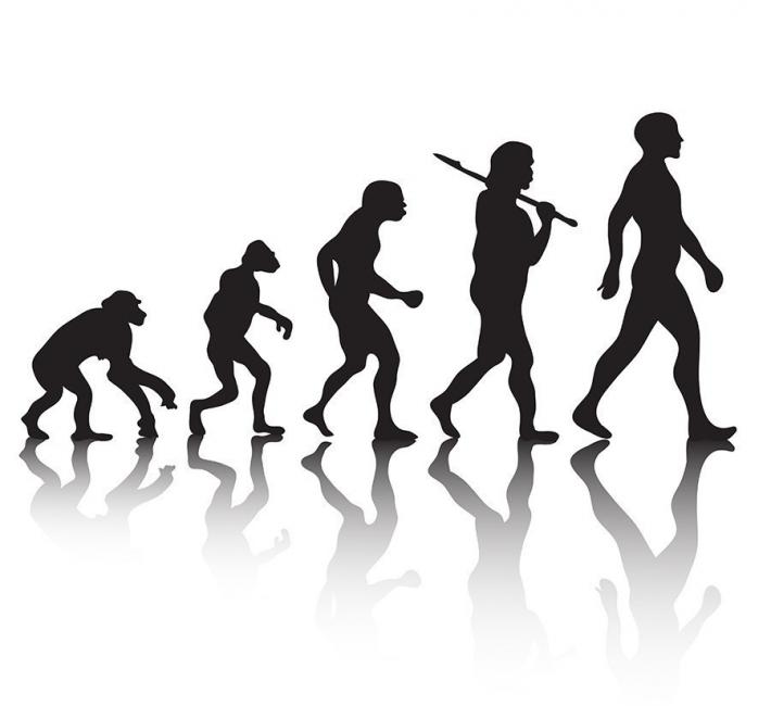 Truco para descubrir en tu brazo las huellas de la evolución del hombre- evolución