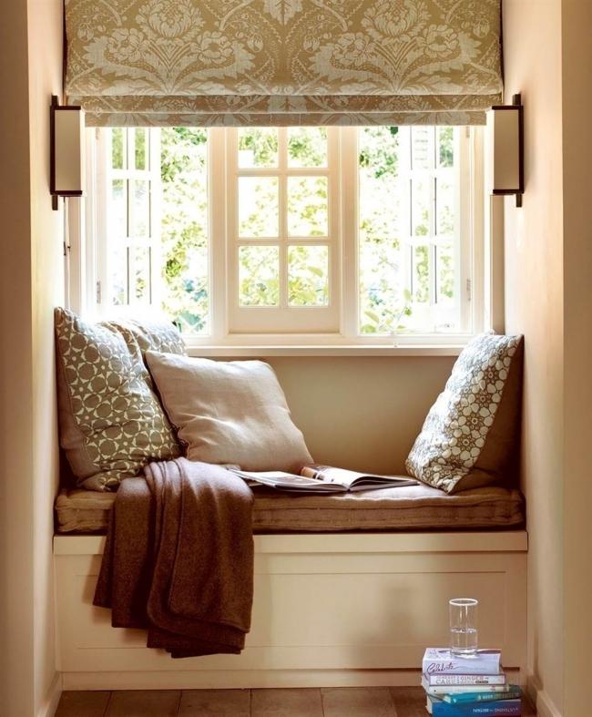 rincones en la ventana- cortinas romanas