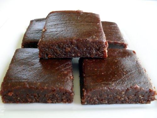 brownie sin coccion