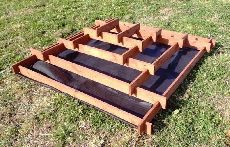 pirámide para plantar- base
