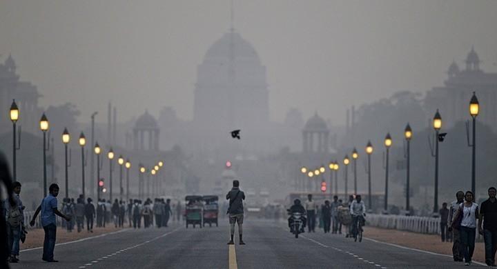 contaminación en india