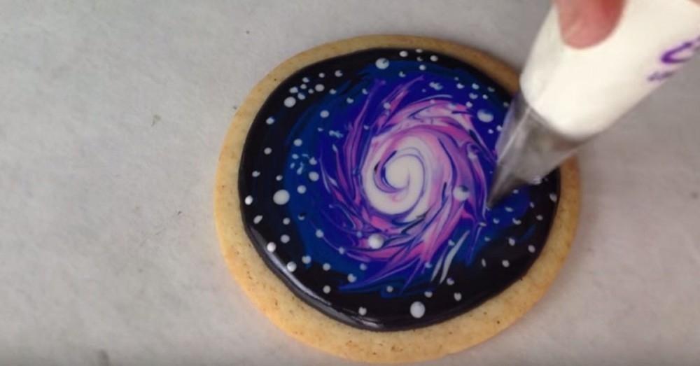 galletas galaxia- decoración