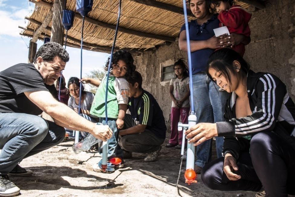 proyecto agua segura- comunidades vulnerables sin acceso al agua en Argentina