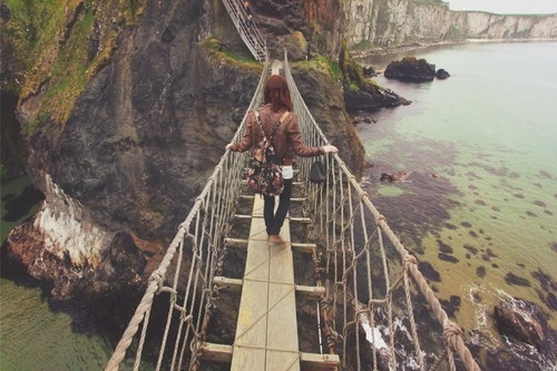 comenzar de nuevo viajando en la naturaleza de Irlanda