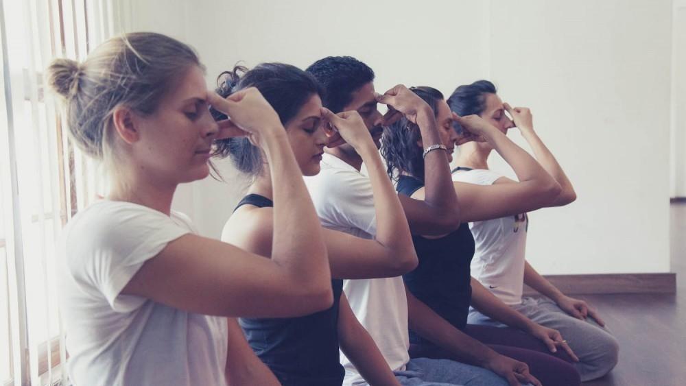 Nadi Shodan - ejercicios de respiración yoga
