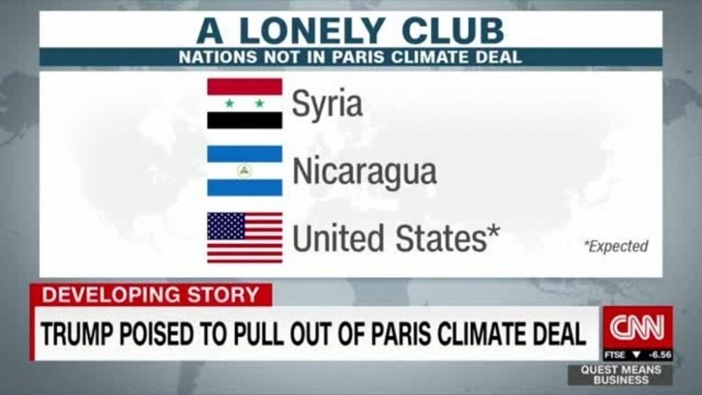 Solo 3 países se han retirado del Acuerdo de París