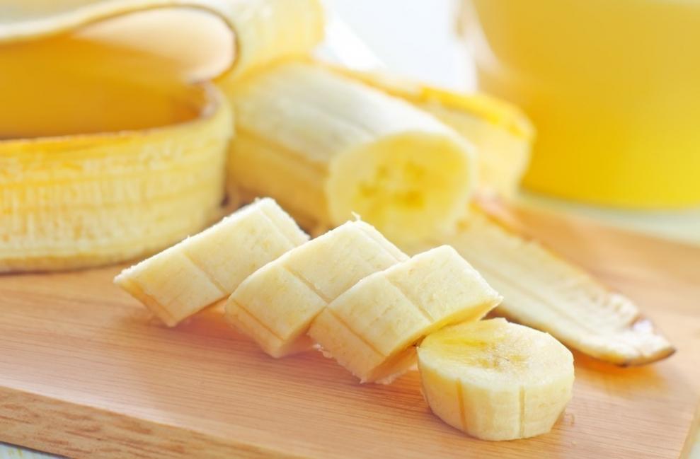 postre de banana- ingredientes