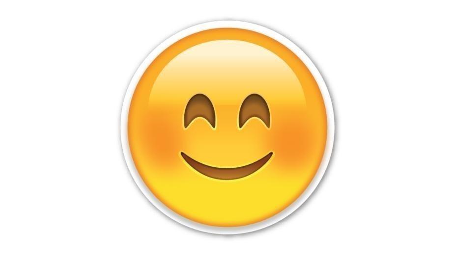 Qué quiere decir de tu personalidad el emoji que más usas de WhatsApp - Sonrisa sonrojada